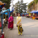 улица, путешественница, Индия