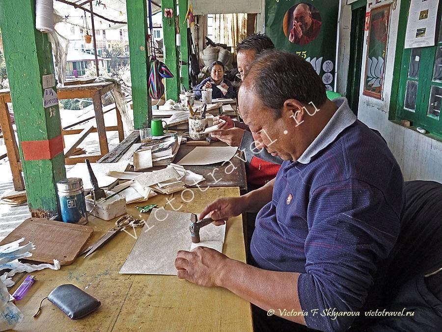 ручной труд, бумажные товары в Маклеод ганж