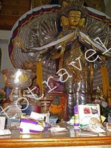 Будда, Далаи Лама Темпл, Дхарамсала, Индия