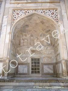 архитектура Тадж Махал, памятник Юнеско, Индия