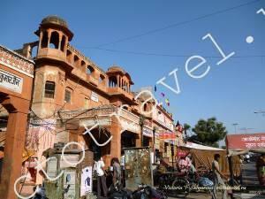 Розоый город Джайпур, Индия