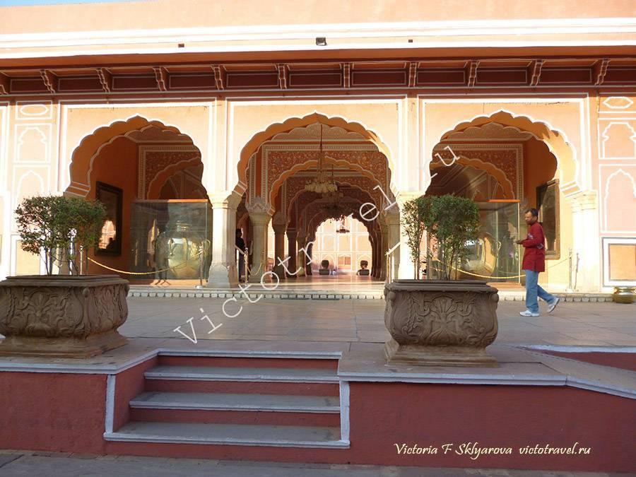 Городской Дворец в Джайпуре, Индия