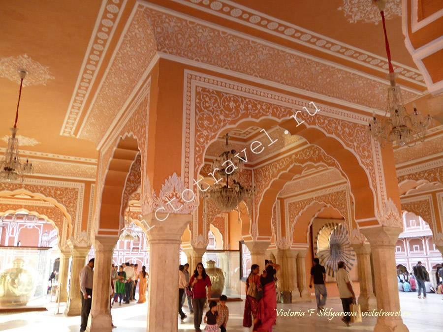 Городской Дворец, Джайпур, Индия