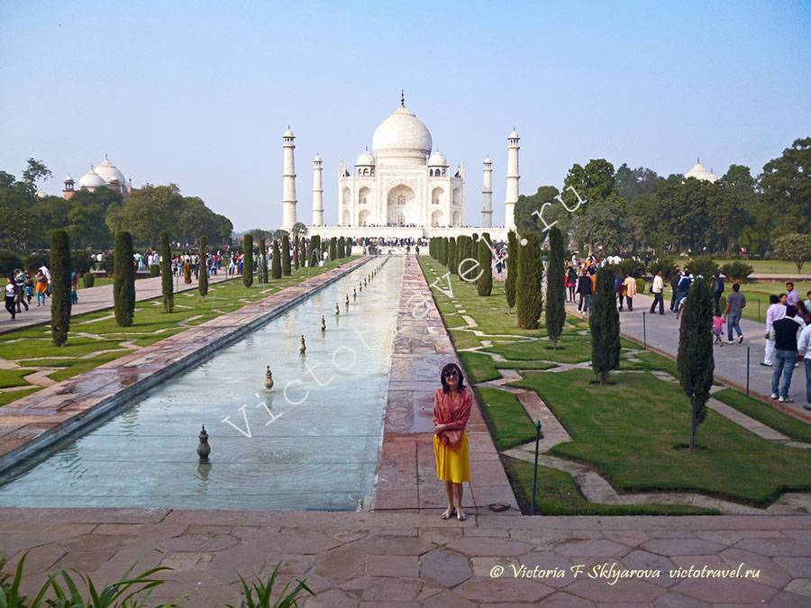 Тадж Махал, Агра, Индия