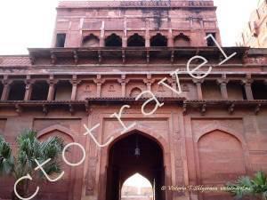 Ворота, Красный форт, Агра, Индия