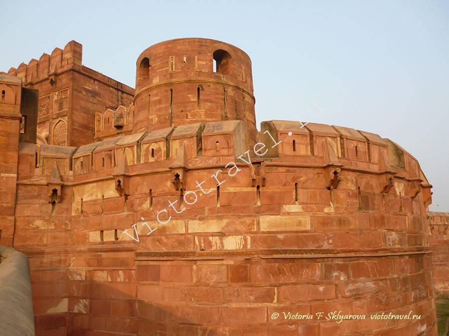Красный форт, Агра, Индия
