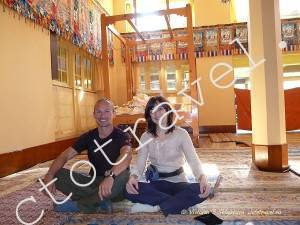 в Далай Лама Темпл