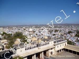 Вид на Удайпур из ДДворца, Индия