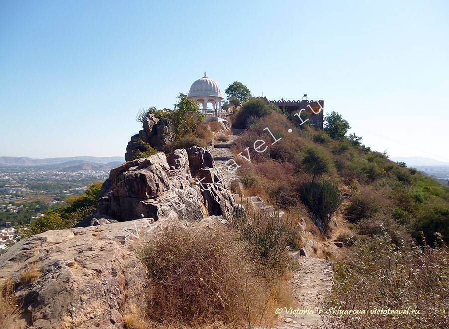 На холме в Удайпур