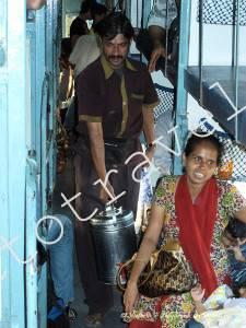 В индийском поезде по пути в Гокарну