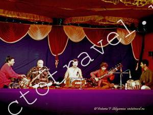 концерт индийской музыки, Гокарна, Индия