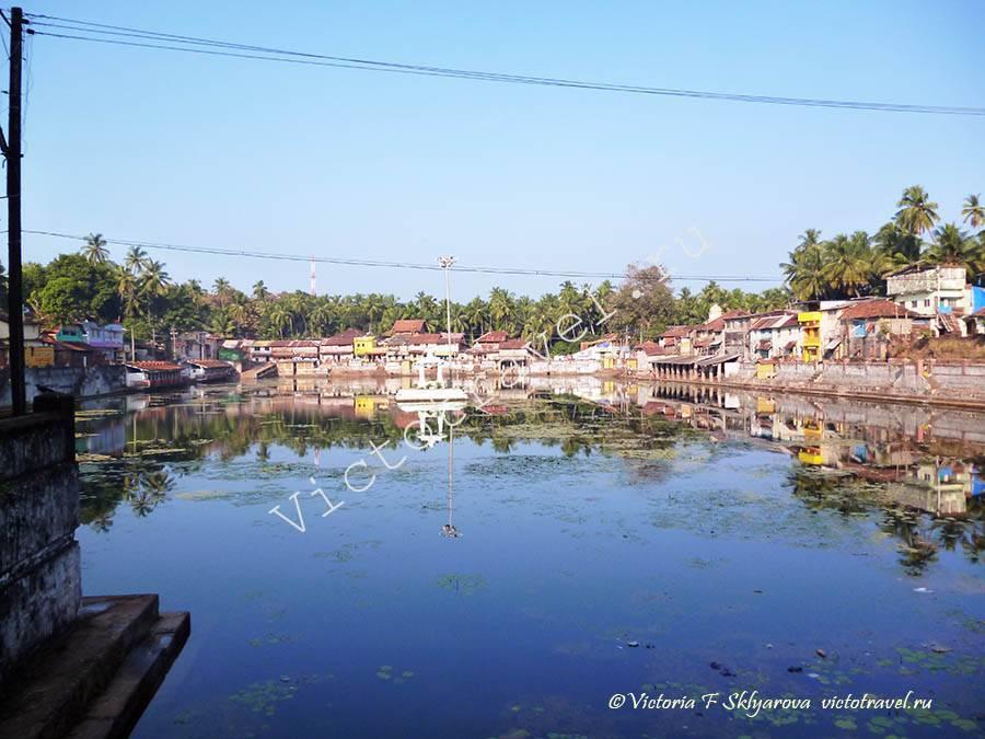 священное озеро в Гокарне