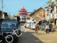главная улица, Гокарна, Индия