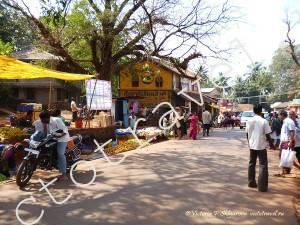 Рынок, Гокарна, Индия