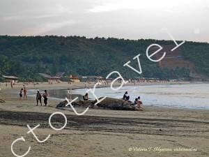 пляж Кудли, Гокарна, Индия
