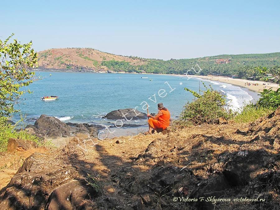 Гокарна - жизнь у моря, Индия, ч. 3