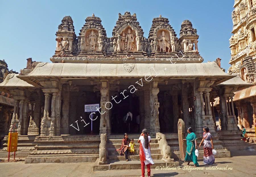Храм Вирупакши, Хампи, Индия
