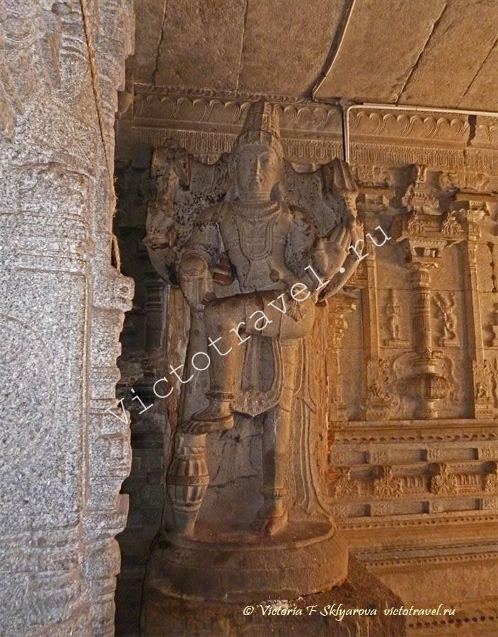 танцующий Бог Шива, Храм Вирупакши, Хампи Индия
