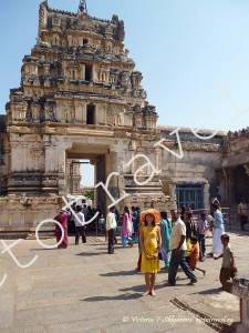 Храма Вирупакши, Хампи Индия
