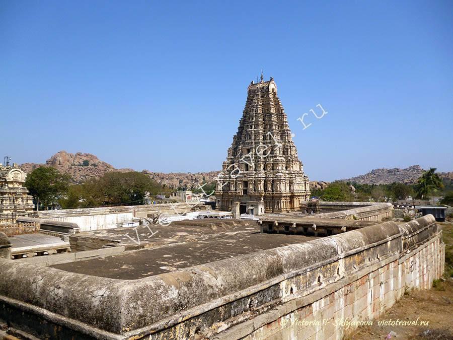 Храм Вирупакши Хампи, Индия