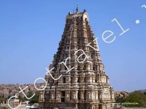 Храм Вирупакши в Хампи, Индия