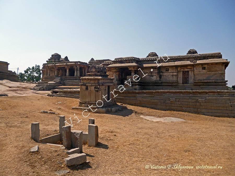 древний храм Хампи, Индия