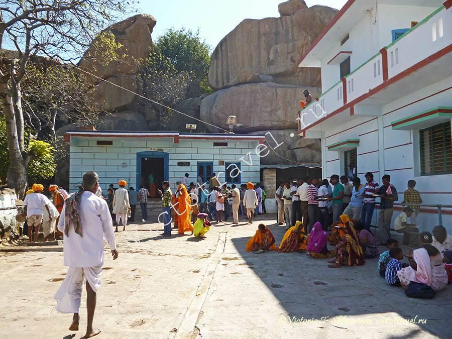 храм Богини Лакшми, Хампи, Индия