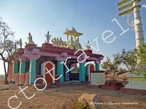 маленький храм, Хампи, Индия