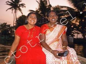 индийские женщины, Аллепи, Керала Индия