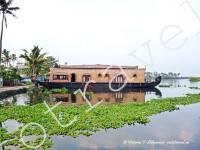 хаусбот, лодка - дом, Аллпи, Керала, Индия