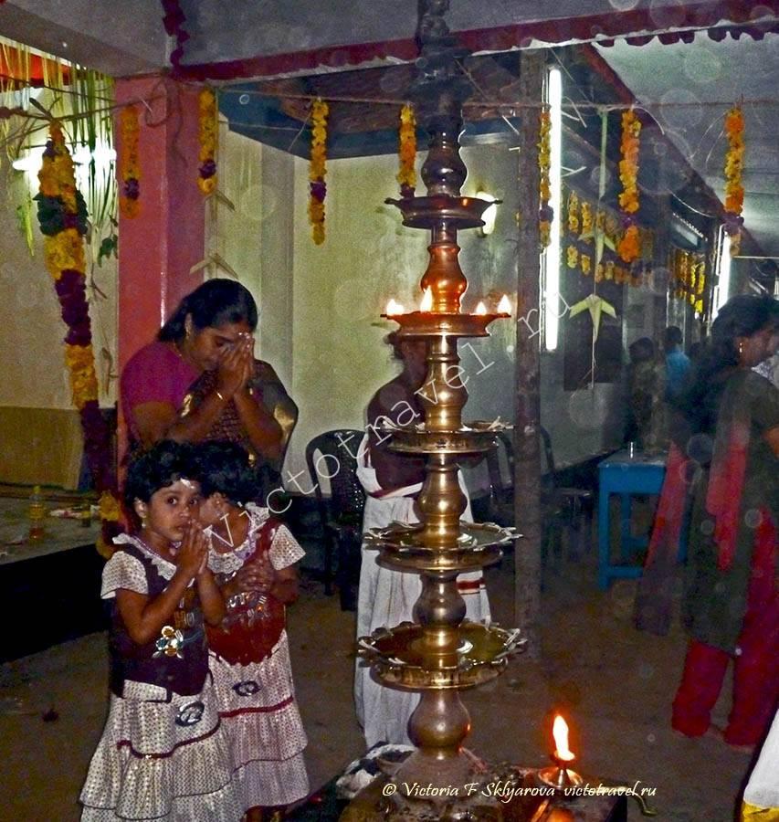поклонение, молитва, храм, индия