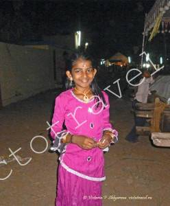 индийская девочка , праздник, радость