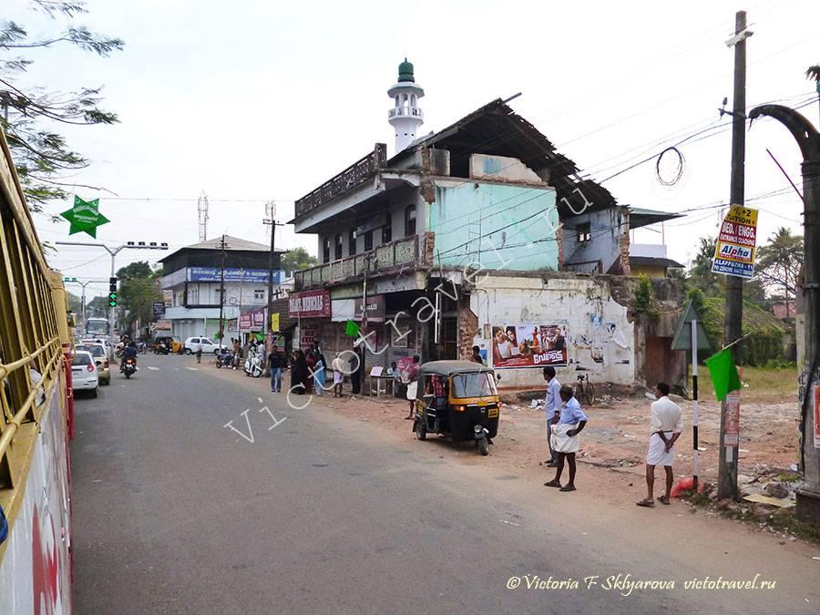 по пути из Алапуджи в Каямкулам, Керала, Индия