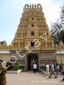храм во дворце, Майсур, Индия