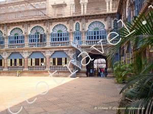 внутренний двор дворца Майсора, Индия