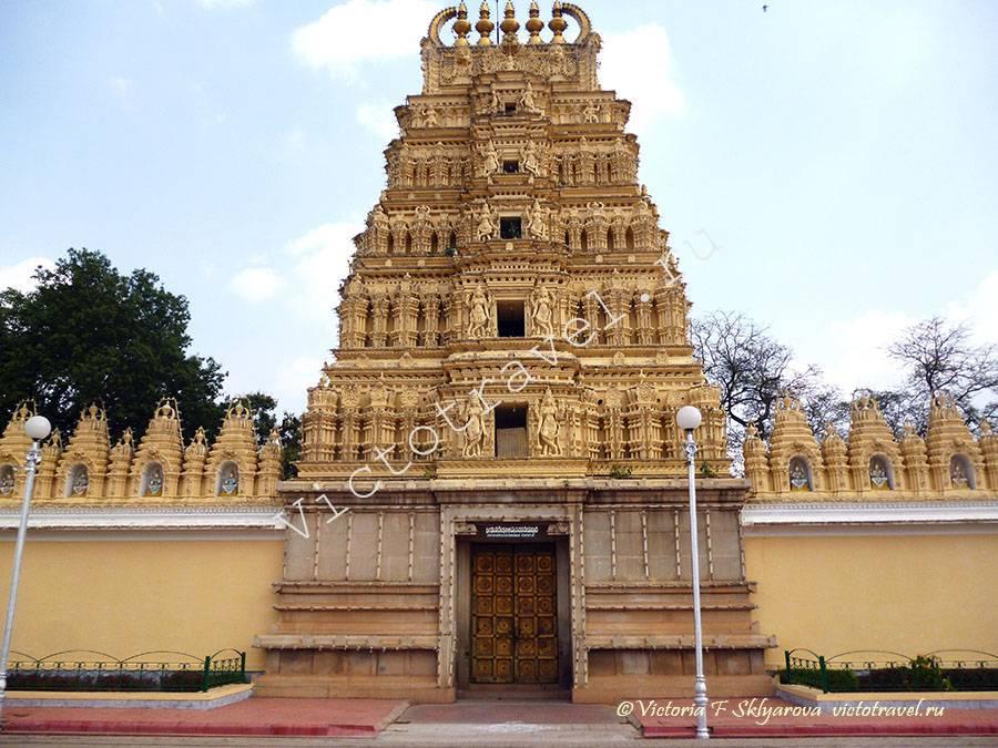 храм во дворце махараджи, Майсор, Индия