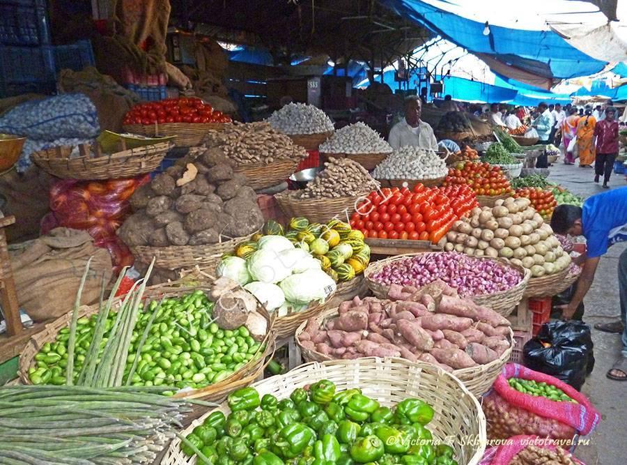 рынок в Майсоре, Индия