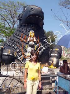 памятник быку, Майсор, Индия