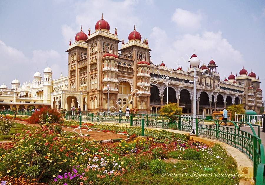 Дворец Махараджи, Майсор, Индия