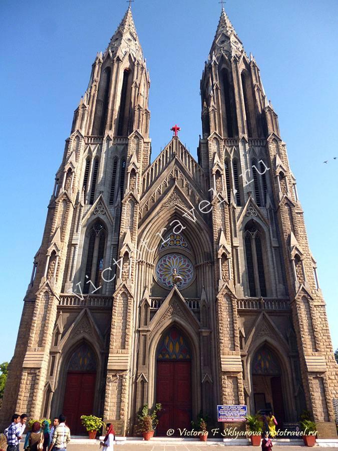 церковь Святой Филомены, Майсор, Индия.