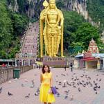 Прилет в Куала Лумпур и пещеры Бату, Малайзия