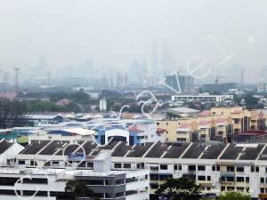 панорама города Куала Лумпур, Малайзия