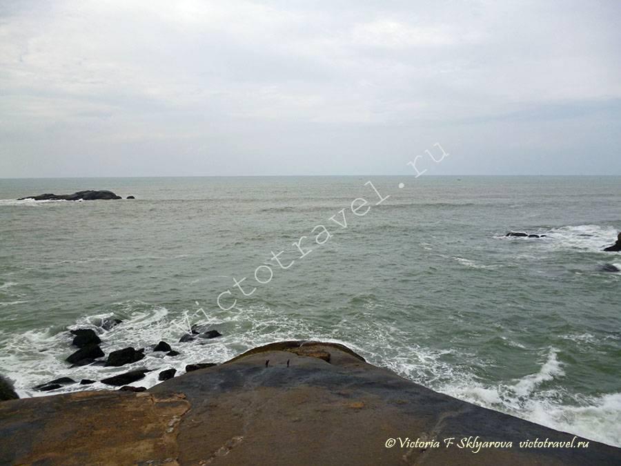 южная точка Индии, Каньякумари