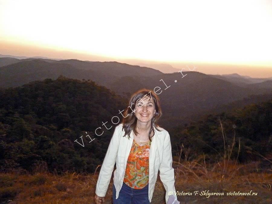На закате в Кумили, Индия