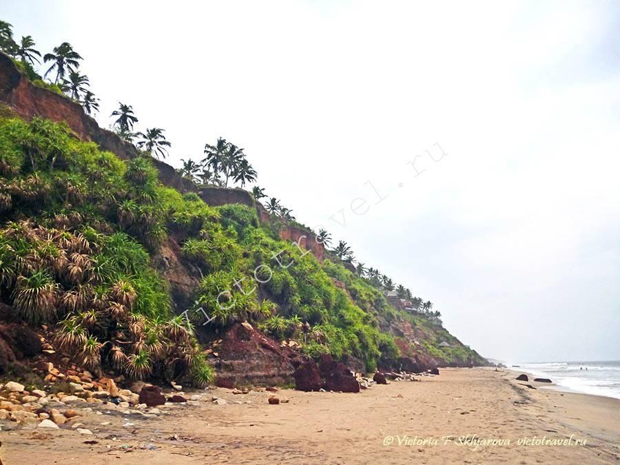 Снова Варкала - ч.2, Керала, Индия