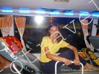 в спальном автобусе, Вьетнам