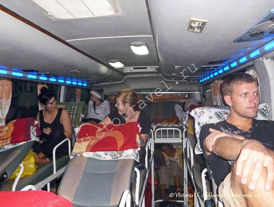слипер бас во Вьетнаме, sleeper bus