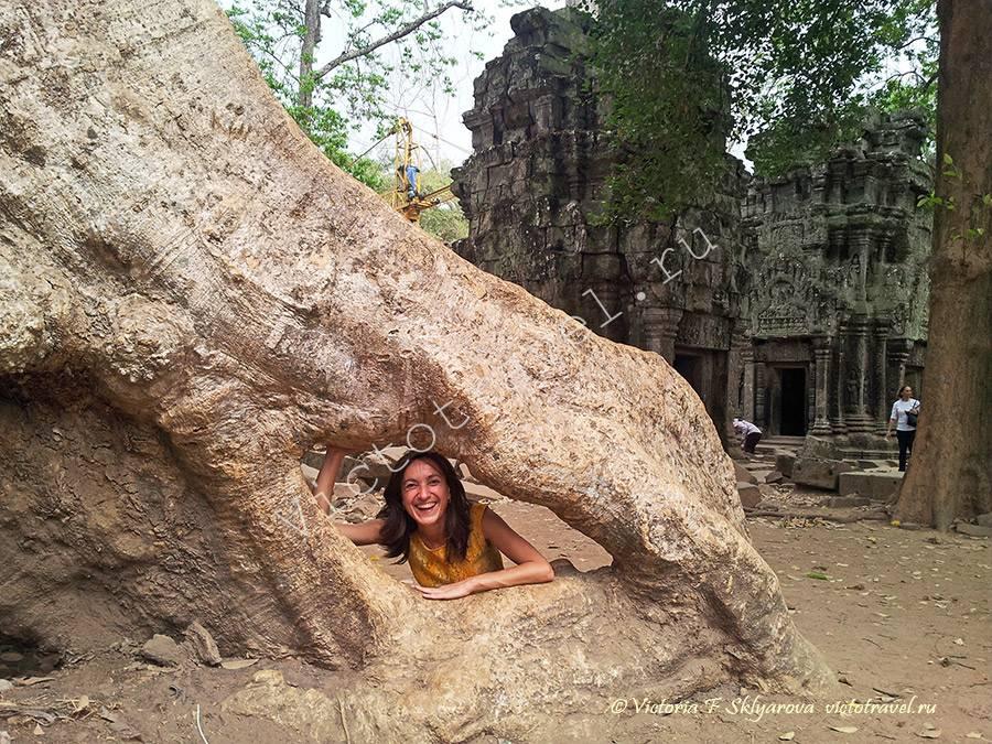 храм Та Прохм, Сием Рип, Камбоджа