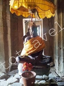 фото статуи Будды, Ангкор Ват, Камбоджа