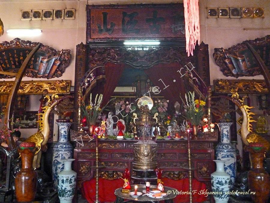 Китайский храм, ХоШиМин, Вьетнам